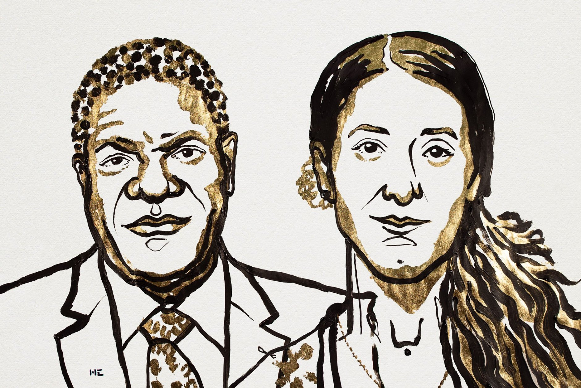 Denis Mukwege and Nadia Murad, 2018 Nobel Peace Prize Laureates