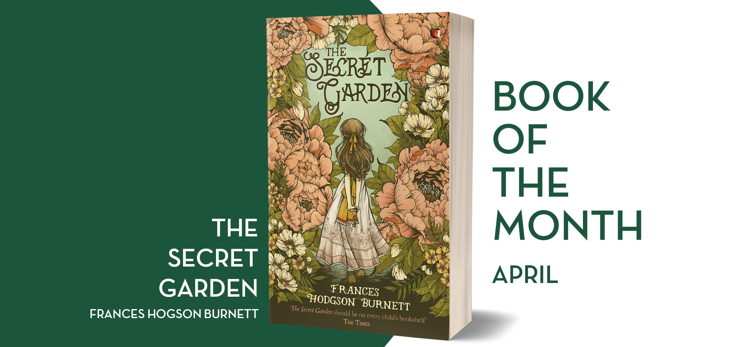 Virago Modern Classic Book Club The Secret Garden By Frances Hodgson Burnett Hachette Uk