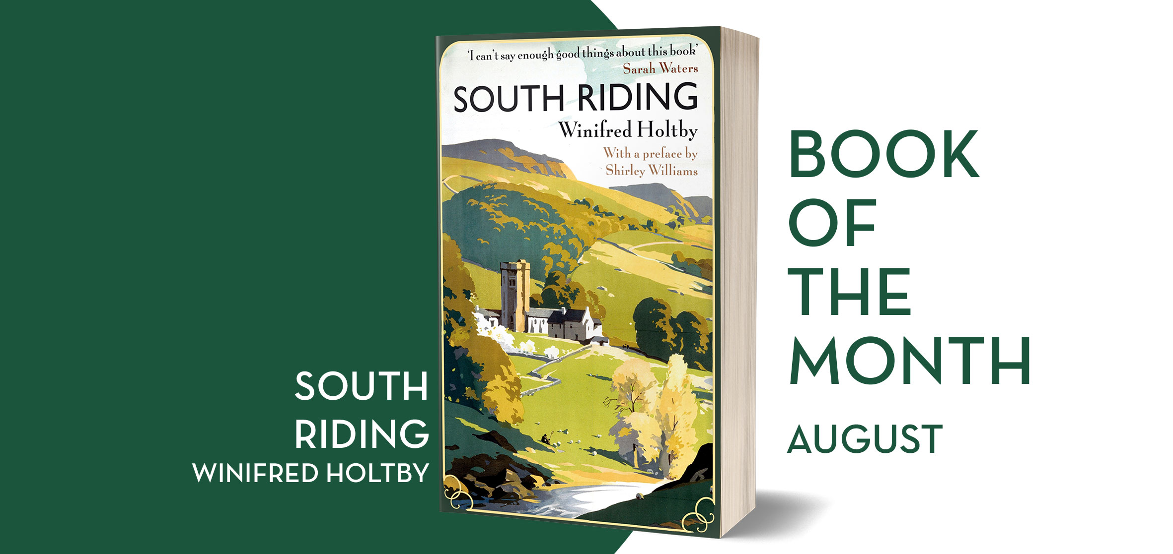 Virago Modern Classic Book Club South Riding By Winifred Holtby Hachette Uk